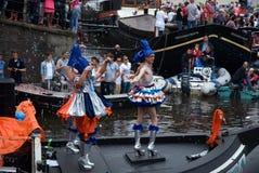 Défilé de canal, fierté homosexuelle 2011 Photographie stock libre de droits