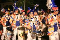 Défilé de carnaval à Arrecife Lanzarote 2009 Image libre de droits