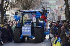 Défilé de carnaval dans Tulln Photo stock