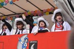 Défilé de carnaval de Fasching Karlsruhe Photo stock