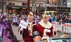 Défilé de carnaval de Fasching Karlsruhe Allemagne Images stock