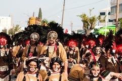 Défilé de carnaval de Limassol, 6 mars 2011 Photographie stock libre de droits