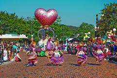 Défilé de Disneyland Images stock
