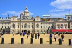 Défilé de dispositifs protecteurs de cheval à Londres Image libre de droits