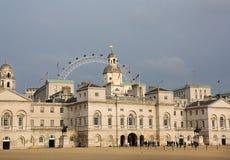 Défilé de dispositifs protecteurs de cheval (Londres) Photo libre de droits
