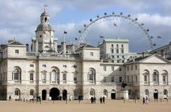 Défilé de dispositifs protecteurs de cheval, Londres Images libres de droits