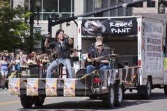 Défilé de fierté, 3 juin 2012. Salt Lake City, Utah Images libres de droits