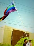 Défilé de fierté de Phoenix, 2010 photographie stock