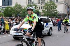 Défilé de fierté de Toronto Photos stock