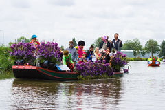 Défilé de flottement 2009 de fleur de Westland Image libre de droits
