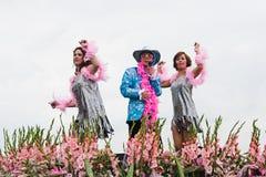 Défilé de flottement 2010 de fleur de Westland image libre de droits