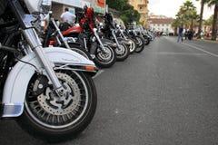 Défilé de Harley-Davidson image libre de droits