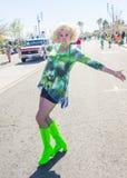 Défilé de Henderson Saint Patrick Images libres de droits