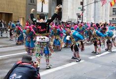 Défilé de jour de 2016 hispaniques à New York Photos libres de droits
