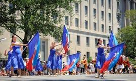 Défilé de Jour de la Déclaration d'Indépendance Image stock