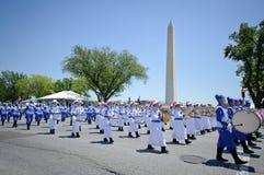 Défilé de Jour de la Déclaration d'Indépendance Image libre de droits