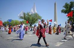 Défilé de Jour de la Déclaration d'Indépendance Photographie stock