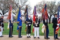 Défilé de jour de Patrickâs de saint de Washington DC. Images libres de droits