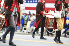 Défilé de jour de patriotes Image stock