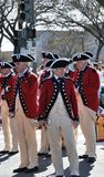 Défilé de jour de rue Patrick à Washington, C.C Image stock
