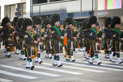 Défilé de jour de rue Patrick Photos stock