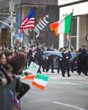 Défilé de jour de rue Patrick Photos libres de droits