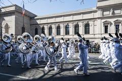 Défilé de jour de rue Patrick dans NYC Image libre de droits