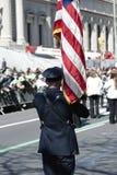 Défilé de jour de rue Patrick dans NYC Photos stock