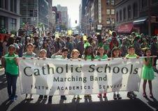 2015 défilé de jour de SF St Patrick Photos libres de droits