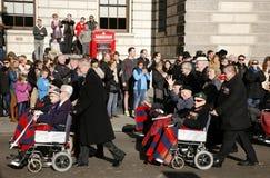 Défilé de jour de souvenir, 2012 Photo stock