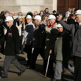 Défilé de jour de souvenir, 2012 Images stock