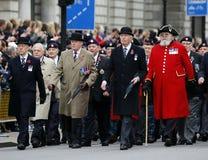 2015, défilé de jour de souvenir, Londres Photo libre de droits