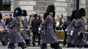 2015, défilé de jour de souvenir, Londres Photographie stock libre de droits