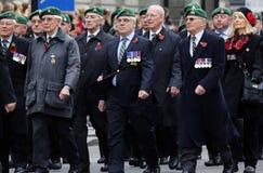 2015, défilé de jour de souvenir, Londres Images stock