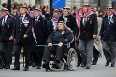 2015, défilé de jour de souvenir, Londres Image libre de droits