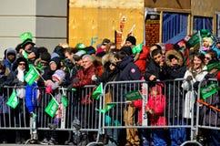 Défilé de jour de St Patrick Photo stock