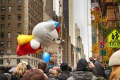 Défilé de jour de thanksgiving de Macy's Photos stock
