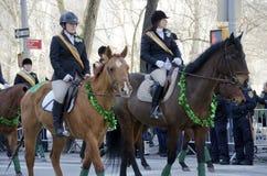 Défilé de jour du ` s de New York City St Patrick Image stock
