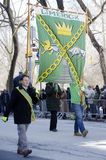 Défilé de jour du ` s de New York City St Patrick Image libre de droits