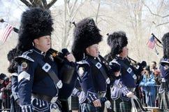 Défilé de jour du ` s de New York City St Patrick Photographie stock libre de droits