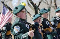 Défilé de jour du ` s de New York City St Patrick Images libres de droits