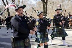 Défilé de jour du ` s de New York City St Patrick Photo libre de droits