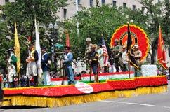 Défilé de Jour du Souvenir à Washington, C.C. Image stock