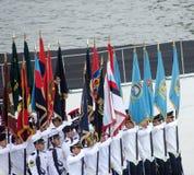Défilé 2013 de jour national de Singapour Photos stock