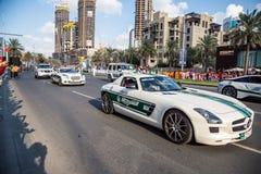 Défilé de jour national des EAU Photo libre de droits