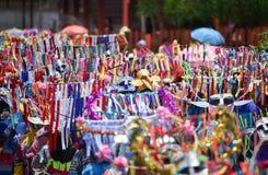 Défilé de la danse de phi-Khon-Nam de festival de cérémonie de pluie Photographie stock