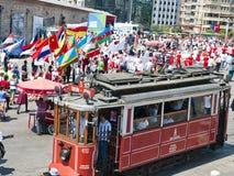 Défilé de la jeunesse du monde, Istanbul, Turquie Photos stock