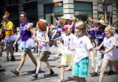 Défilé de LGBT Image stock
