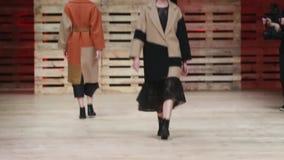 Défilé de mode d'Ana Marija Ricov banque de vidéos