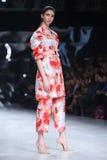 Défilé de mode de Bipa : Aman, Zagreb, Croatie Photographie stock